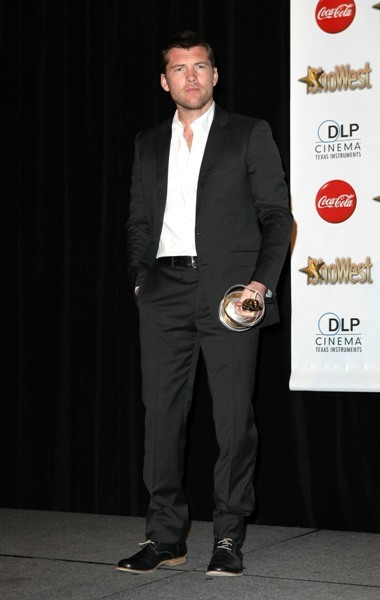 Sam Worthington at the ShoWest 2010 Awards Ceremony