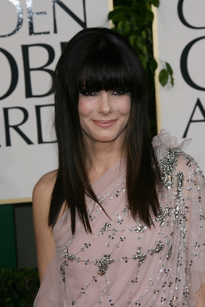 Sandra Bullock with Bangs