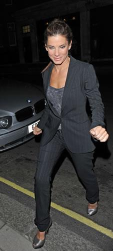 Sandra Bullock out and about in London
