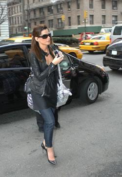 Sandra Bullock out and about in NYC