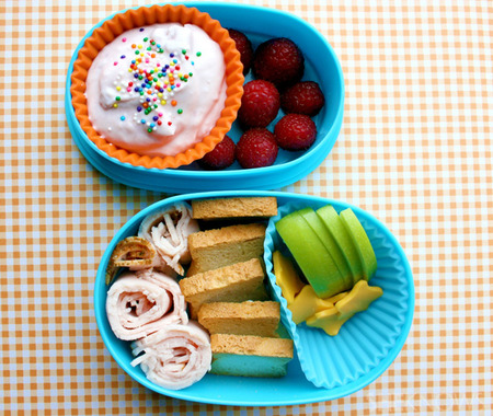 Mini Sandwich Makers bento box lunch
