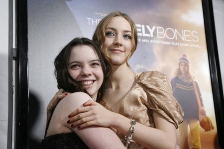 Katie Jackson (Peter Jackson's daughter) & Saoirse Ronan