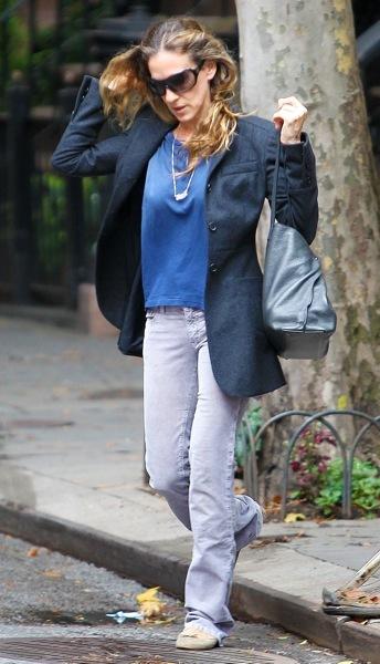 Sarah Jessica Parker in a blazer