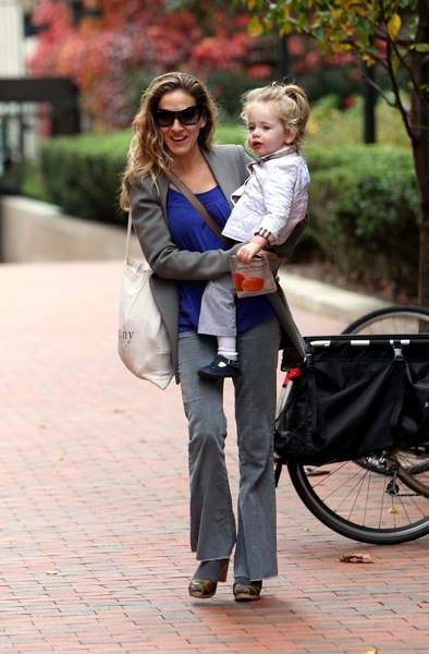 Sarah Jessica Parker in sunglasses