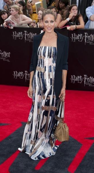 Sarah Jessica Parker in a maxi dress