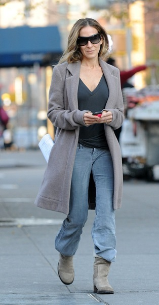 Sarah Jessica Parker in UGGs