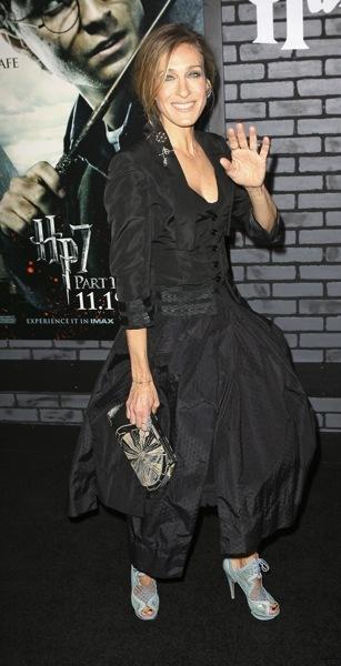 Sarah Jessica Parker in a jumpsuit