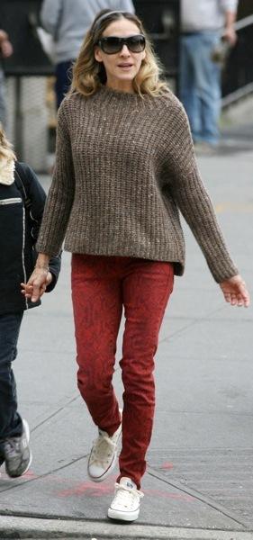 Sarah Jessica Parker in skinny jeans