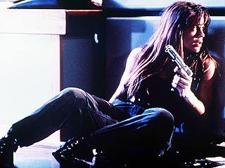 Linda Hamilton as Sarah Connor in Terminator