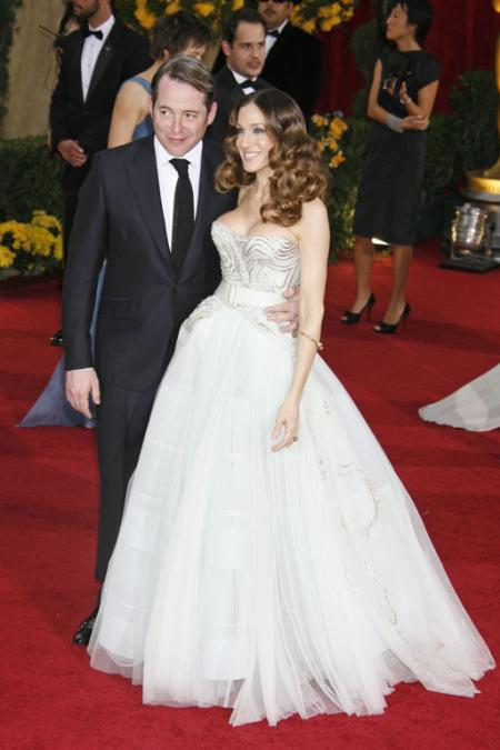 Matthew Broderick and Sarah Jessica Parker at the 2009 Oscars