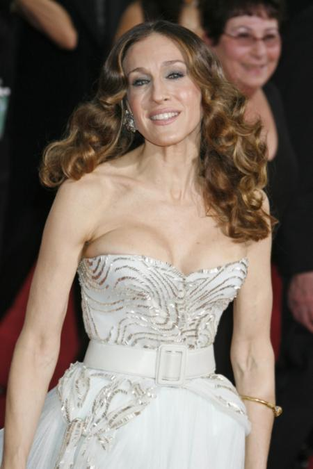 Sarah Jessica Parker wearing Dior Haute Couture