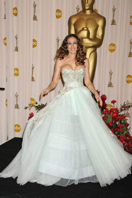 Sarah Jessica Parker at the 2009 Oscars