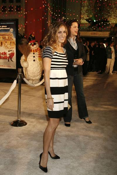 Sarah Jessica Parker at the premiere of 'Deck the Halls.'