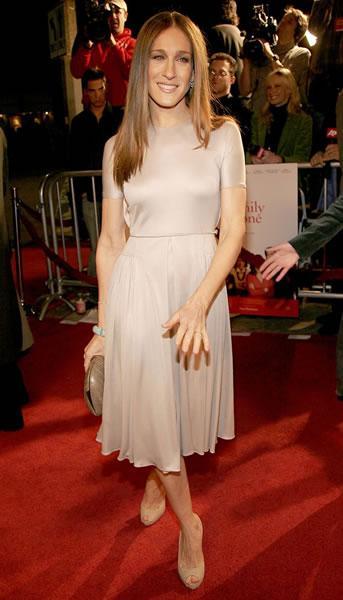 Sarah Jessica Parker at the LA premiere of the ensemble film 'The Family Stone.'