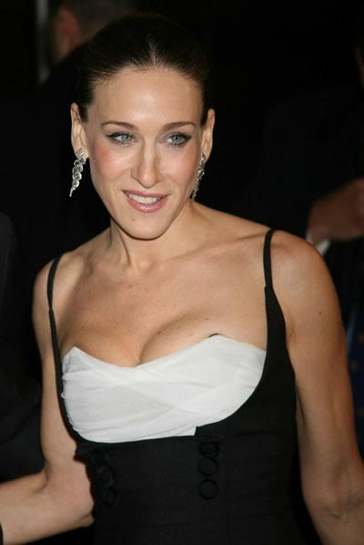 Sarah Jessica Parker at a screening of the movie musical 'The Producers.'