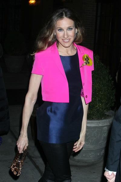 Sarah Jessica Parker at the NY premiere of 'Smart People.'