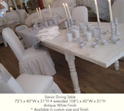 Savior Dining Table by Rachel Ashwell