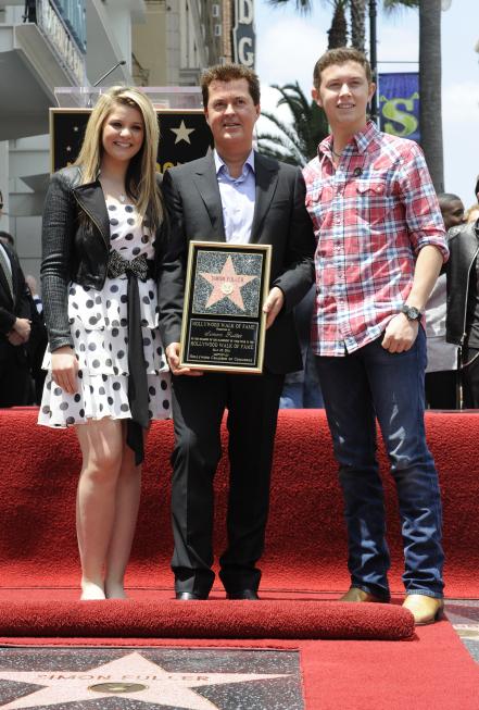 Lauren, Scotty & Simon Fuller