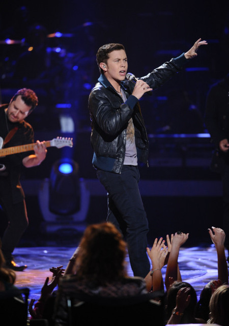Scotty McCreery Round 1 Performance