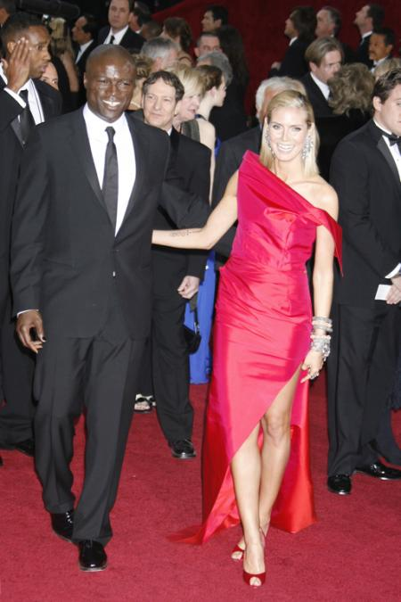 Seal and Heidi Klum at the 2009 Oscars
