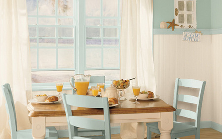 Take your dining room seaside