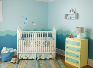Seaside Retreat - Boy's Nursery