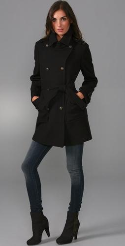 See by Chloe pea coat