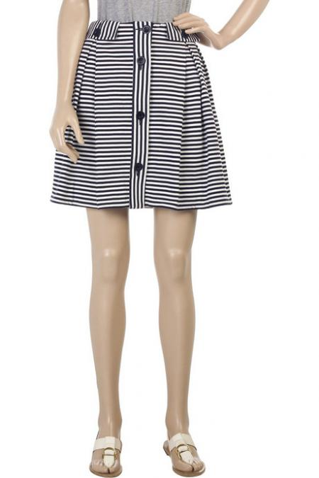 See by Chloe Striped Skirt