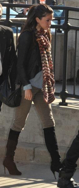 Selena Gomez in boots