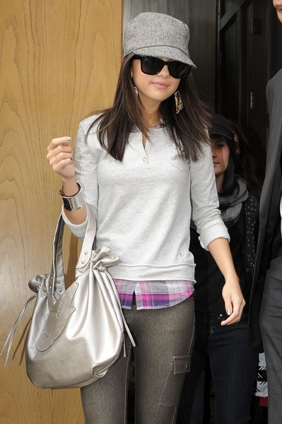 Selena Gomez with a bangle