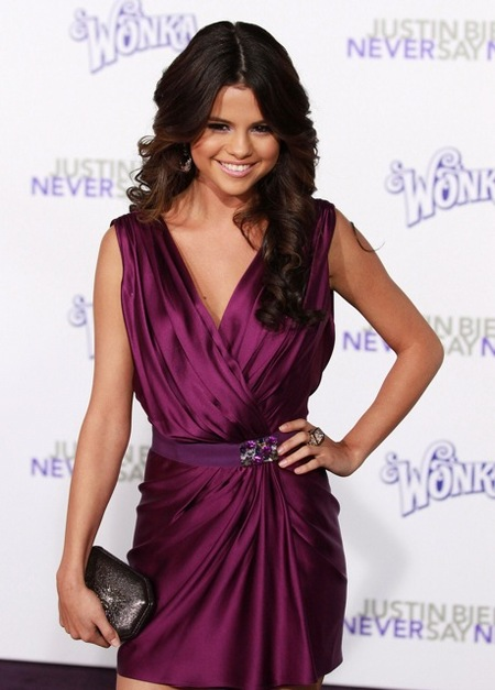 "Selena at ""Never Say Never"" Premiere"