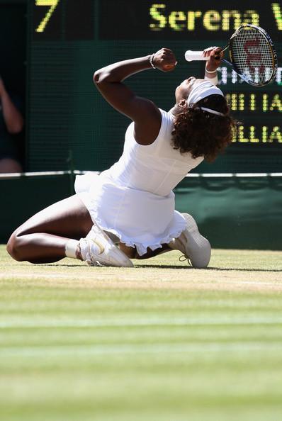 Serena Williams Victorious at Wimbledon 2009