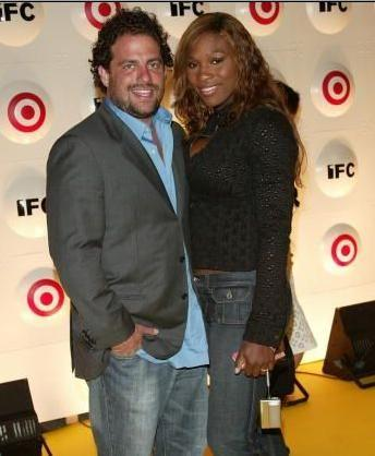 Serena Williams and Brett Ratner