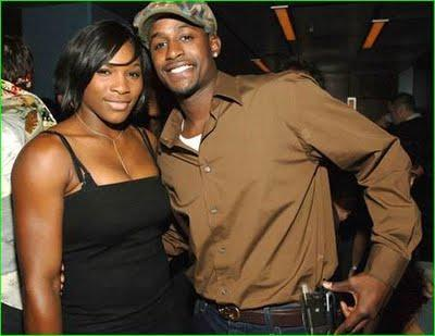 Serena Williams and Jackie Long