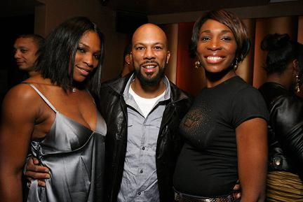 Serena Williams and Rapper Common
