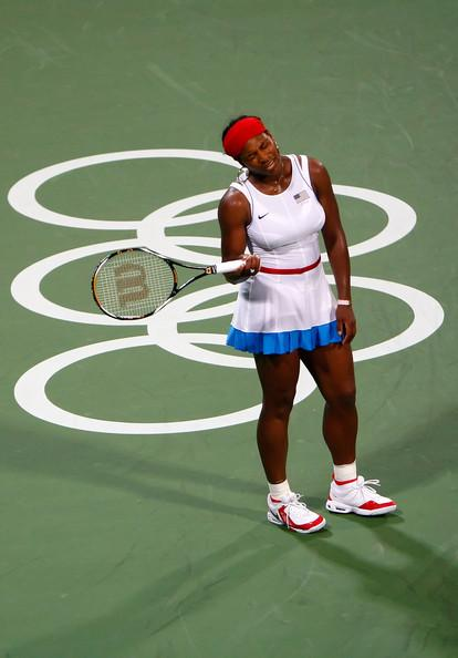 Serena Williams at the Beijing Olympics