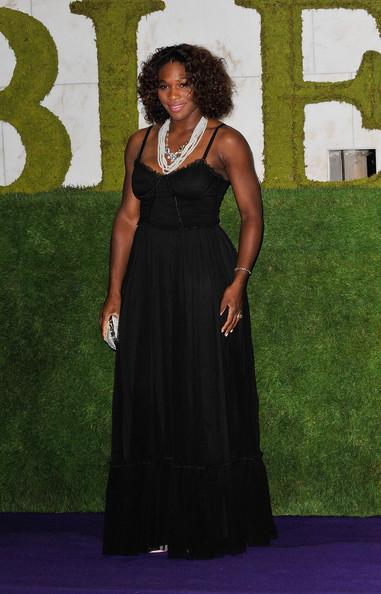 Serena Williams at the Wimbledon Winners Party