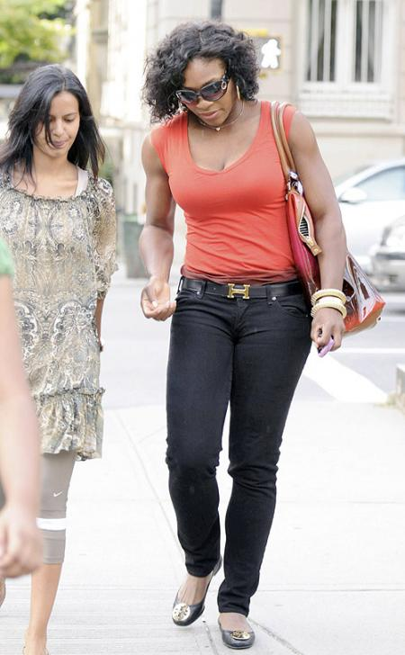 Serena Williams Casual Day Off