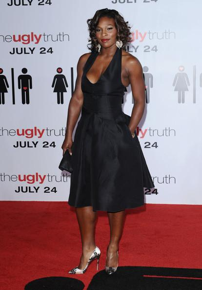 Serena Williams at The Ugly Truth Premiere