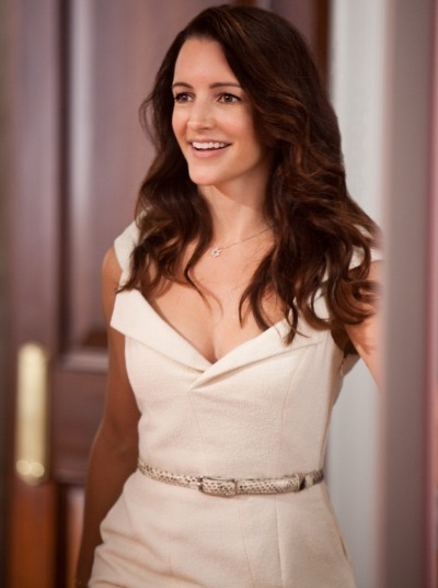 Sex and the City 2 star Kristin Davis dazzles in white
