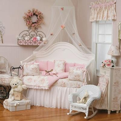 Shabby Chic Baby Bedding - Shabby chic bedrooms