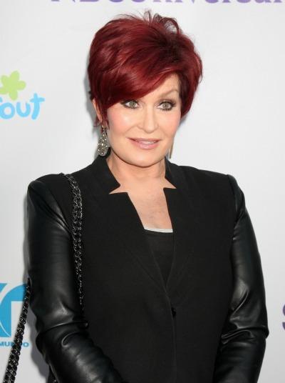 Sharon Osbourne's red trademark