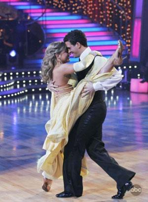 Shawn Johnson on Dancing with the Stars