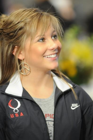 Shawn Johnson at the Flood Relief Charities