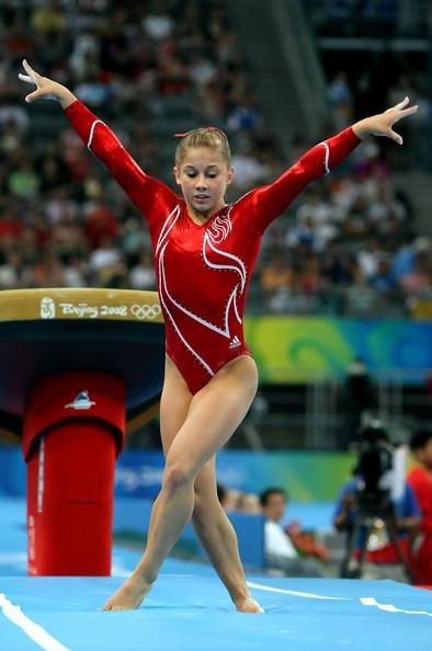 Shawn Johnson on the Vault