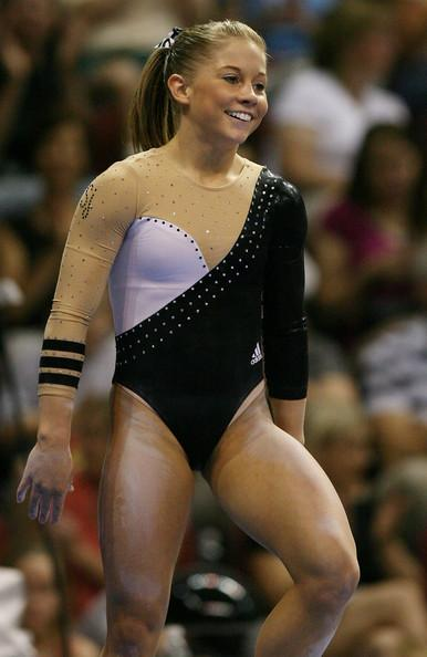 Shawn Johnson at the Visa Championships