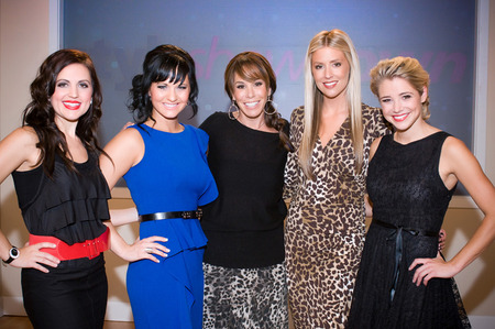 Melissa Rivers and cast of Style Showdown
