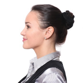 Easy Updo - Classic High Bun with Ribbon Tie