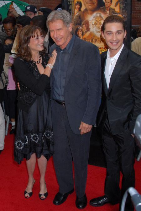 Shia LaBeouf Indiana Jones Premiere