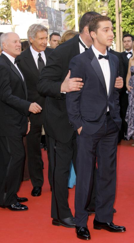 Shia LaBeouf in Cannes